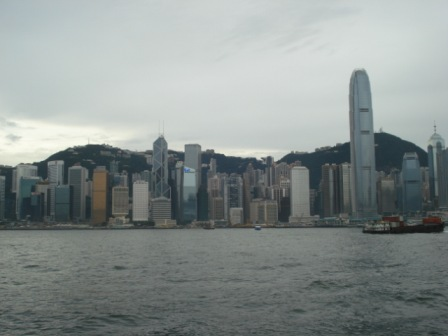 Hong Kong Skyline Summer 2008